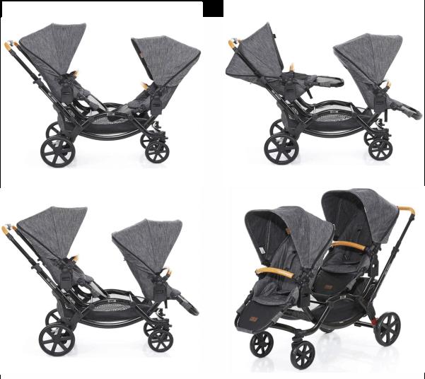 carrinho de bebê abc design